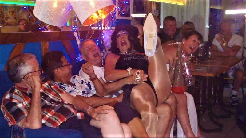 Caspers Benidorm the Will Sparkle Drag Show