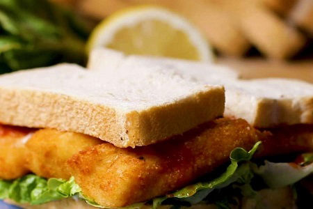 Casper´s Fish Finger Sandwich